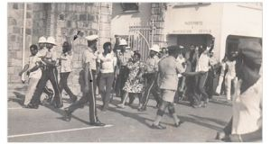 Teachers being arrested in 1975